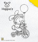 Nellie Snellen - Hoppie's Clear Stamp - Biking - HOP003
